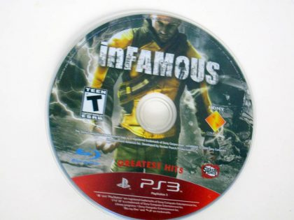 Infamous game for Sony PlayStation 3 -Loose