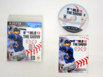 MLB 12: The Show game for Sony PlayStation 3 -Complete