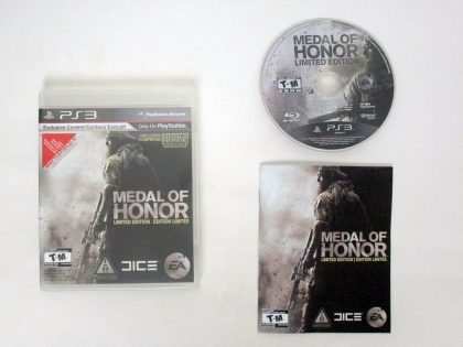 Medal of Honor Limited Edition game for Sony PlayStation 3 -Complete