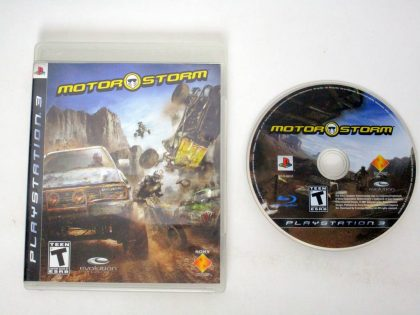 MotorStorm game for Sony PlayStation 3 -Game & Case