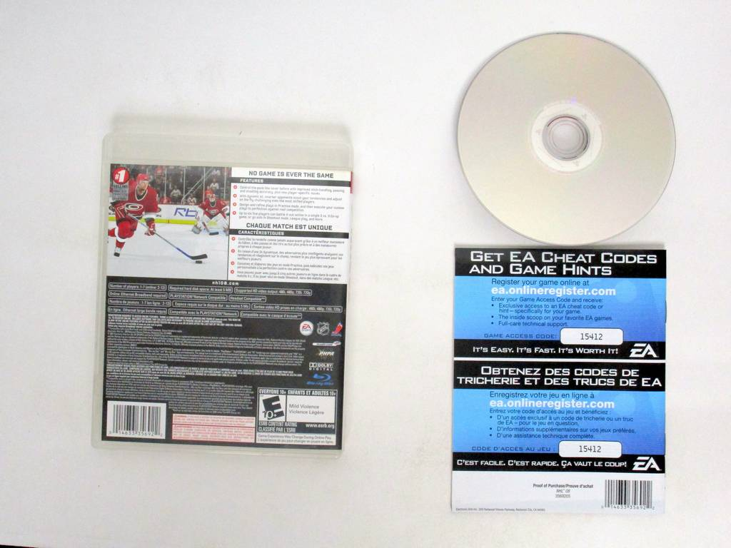 NHL 08 game for Sony PlayStation 3 | The Game Guy