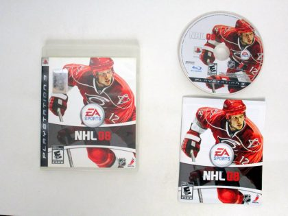 NHL 08 game for Sony PlayStation 3 -Complete