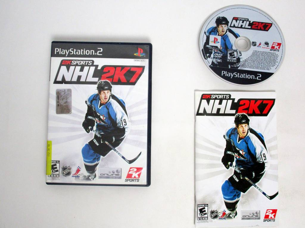 NHL 2K7 game for Sony PlayStation 2 -Complete