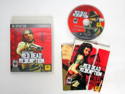 Red Dead Redemption game for Sony PlayStation 3 -Complete