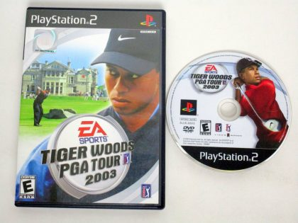 Tiger Woods 2003 game for Sony PlayStation 2 -Game & Case