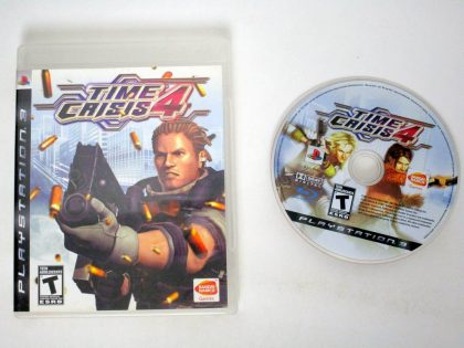 Time Crisis 4 game for Sony PlayStation 3 -Game & Case