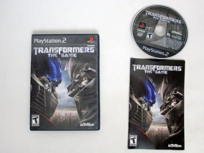 Transformers the Game game for Sony PlayStation 2 -Complete
