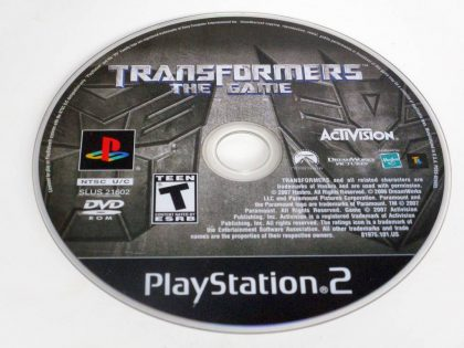 Transformers the Game game for Sony PlayStation 2 -Loose