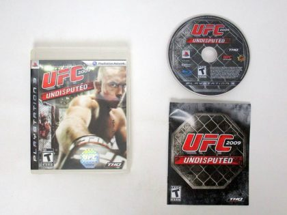 UFC 2009 Undisputed game for Sony PlayStation 3 -Complete