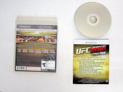 UFC Undisputed 2010 game for Sony PlayStation 3   The Game Guy