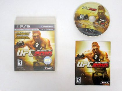 UFC Undisputed 2010 game for Sony PlayStation 3 -Complete