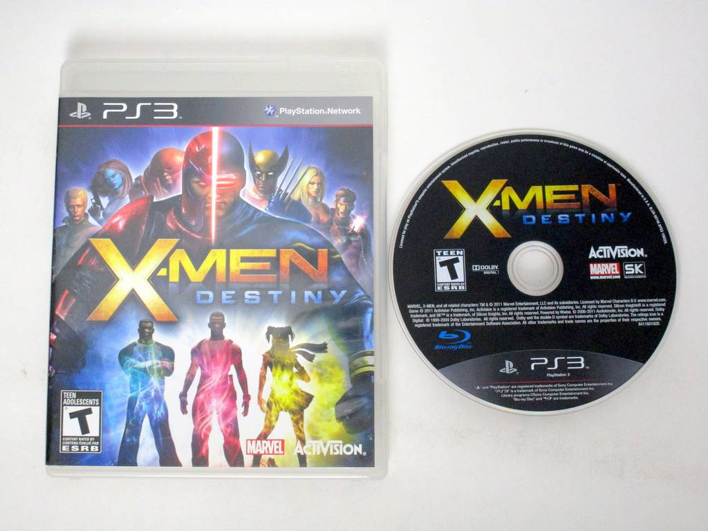 X-Men: Destiny game for Sony PlayStation 3 -Game & Case