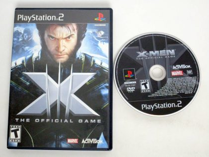X-Men: The Official Game game for Sony PlayStation 2 -Game & Case