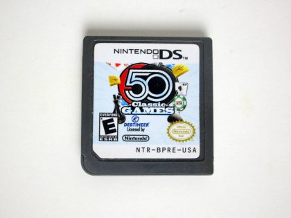 50 Classic Games game for Nintendo DS -Loose