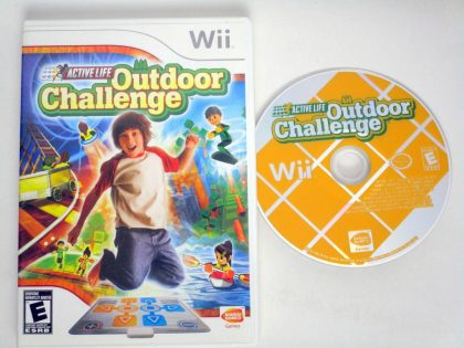Active Life Outdoor Challenge game for Nintendo Wii -Game & Case