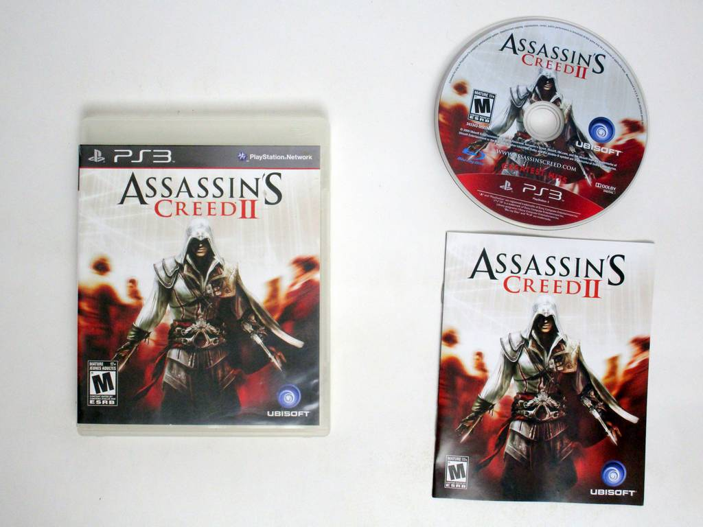 Assassin's Creed II The Master Assassin's Edition game for Sony PlayStation 3 -Complete