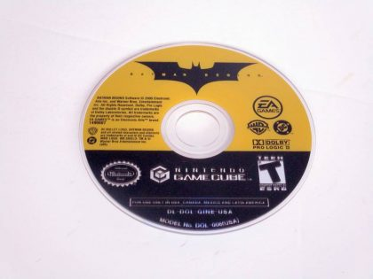 Batman Begins game for Nintendo GameCube -Loose
