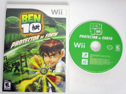 Ben 10 Protector of Earth game for Nintendo Wii -Game & Case