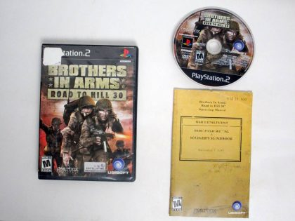 Brothers in Arms Road to Hill 30 game for Sony PlayStation 2 -Complete