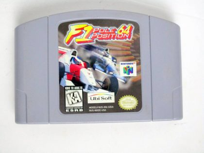 F1 Pole Position 64 game for Nintendo 64 -Loose