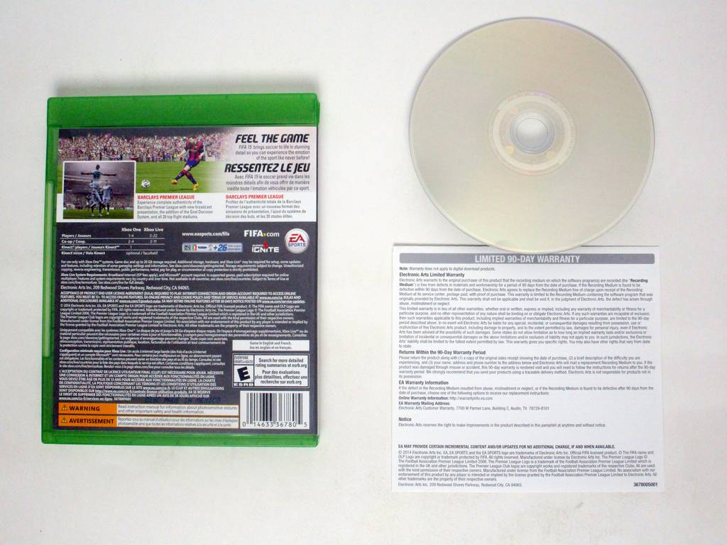 FIFA 15 game for Microsoft Xbox One   The Game Guy