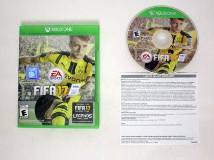 FIFA 17 game for Microsoft Xbox One -Complete
