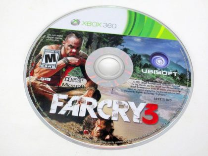 Far Cry 3 game for Microsoft Xbox 360 -Loose
