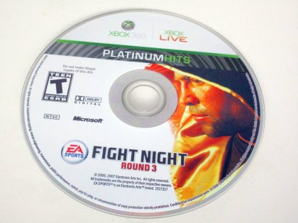 Fight Night Round 3 game for Microsoft Xbox 360 -Loose