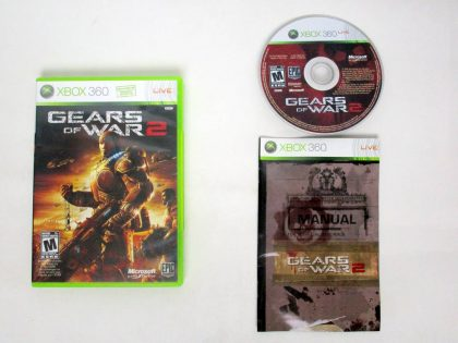 Gears of War 2 game for Microsoft Xbox 360 -Complete