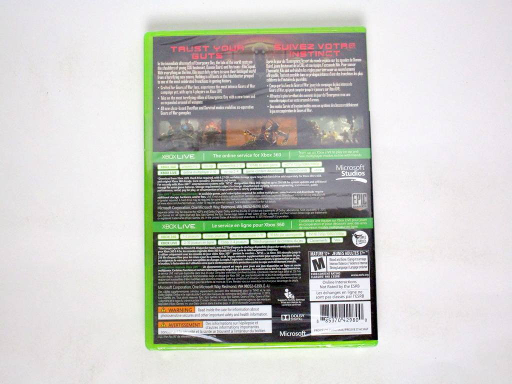 Gears of War Judgment game for Microsoft Xbox 360 | The Game Guy