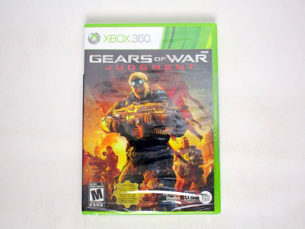 Gears of War Judgment game for Microsoft Xbox 360 -New
