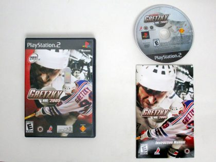 Gretzky NHL 2005 game for Sony PlayStation 2 -Complete