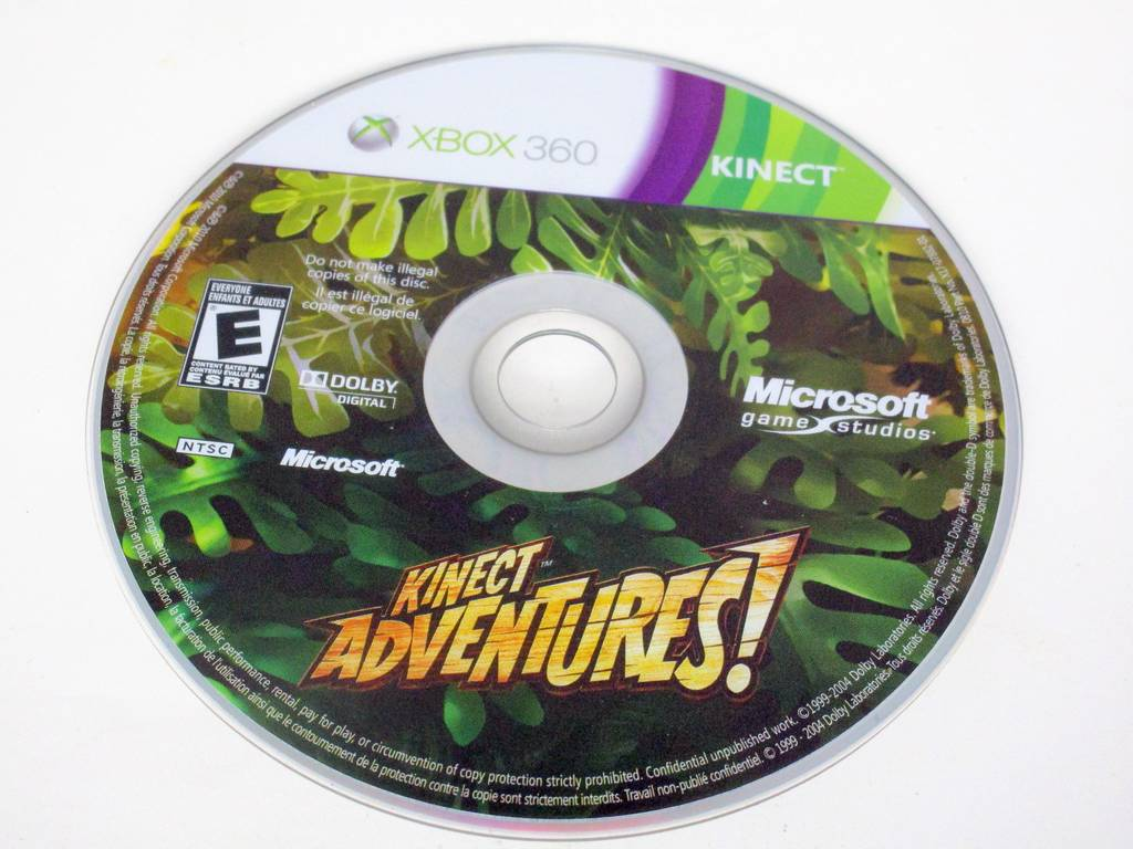 Kinect Adventures game for Microsoft Xbox 360 -Loose