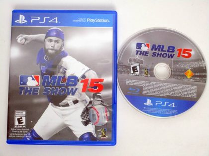 MLB 15: The Show game for Sony PlayStation 4 -Game & Case