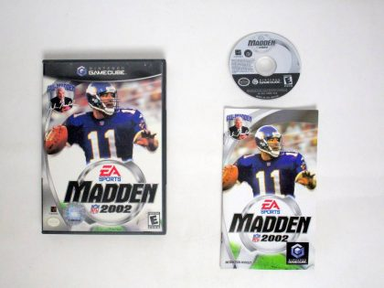 Madden 2002 game for Nintendo GameCube -Complete