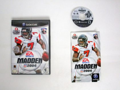 Madden 2004 game for Nintendo GameCube -Complete