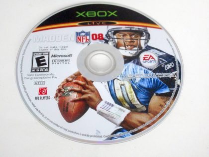 Madden 2008 game for Microsoft Xbox 360 -Loose