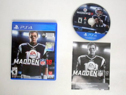 Madden NFL 18 game for Sony PlayStation 4 -Complete