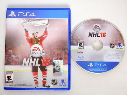 NHL 16 game for Sony PlayStation 4 -Game & Case