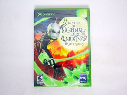 Nightmare Before Christmas Oogies Revenge game for Microsoft Xbox -New