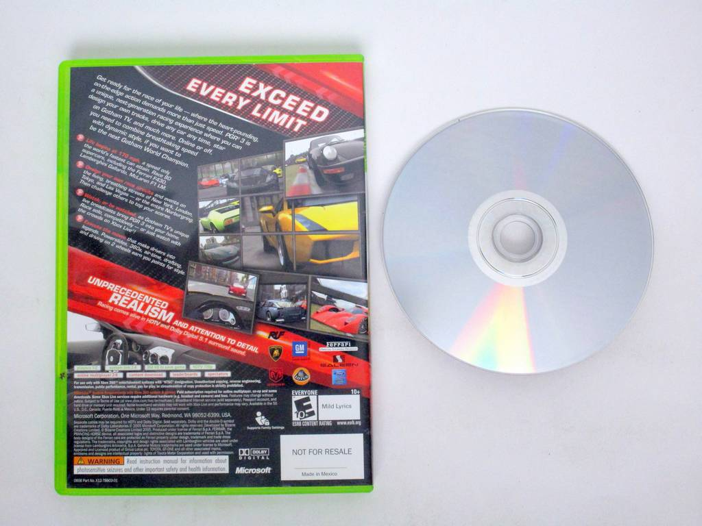 Project Gotham Racing 3 game for Microsoft Xbox 360 | The Game Guy