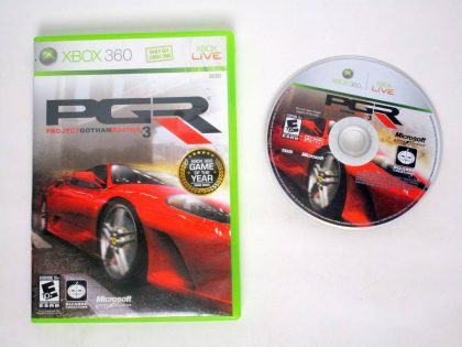 Project Gotham Racing 3 game for Microsoft Xbox 360 -Game & Case