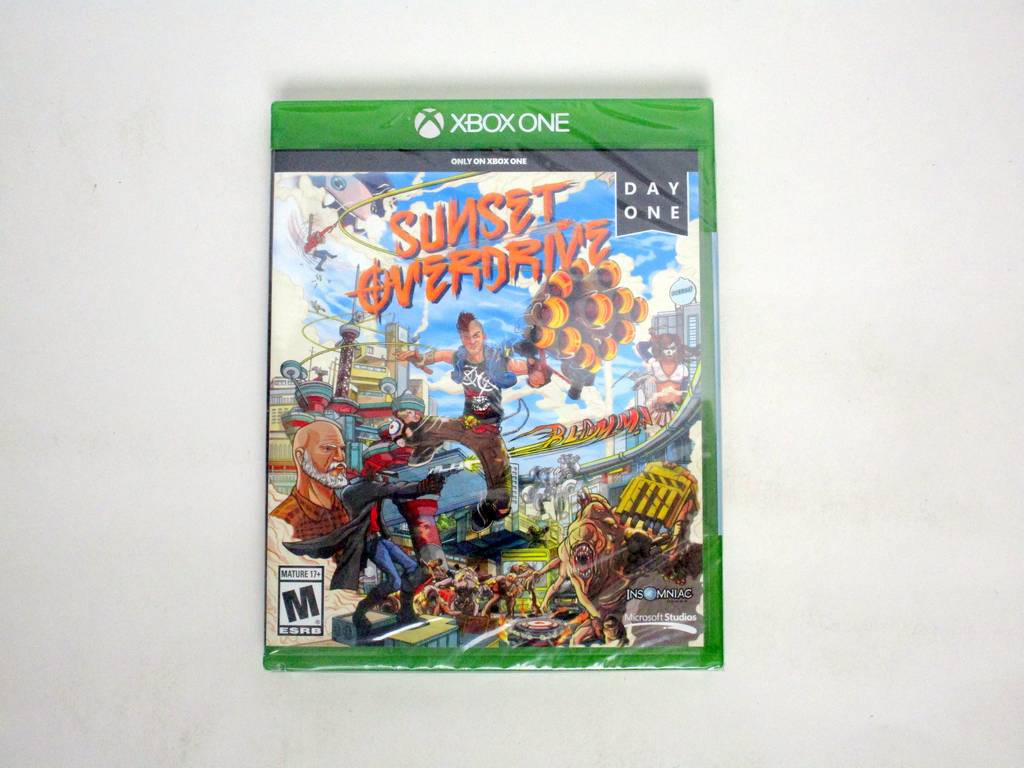 Sunset Overdrive Day One game for Microsoft Xbox One -New