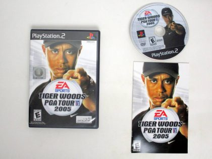 Tiger Woods 2005 game for Sony PlayStation 2 -Complete