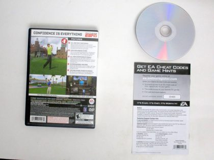 Tiger Woods PGA Tour 08 game for Sony PlayStation 2   The Game Guy