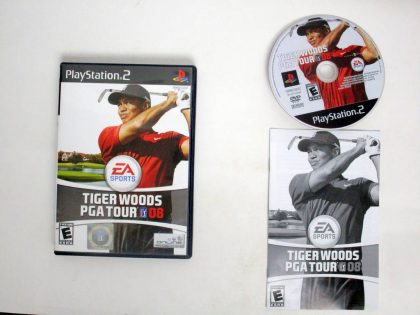 Tiger Woods PGA Tour 08 game for Sony PlayStation 2 -Complete