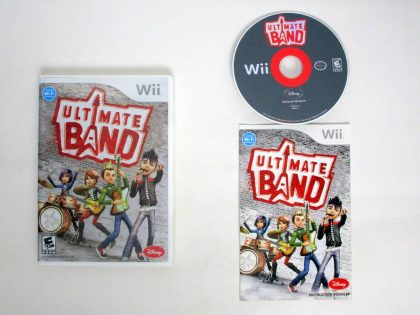 Ultimate Band game for Nintendo Wii -Complete