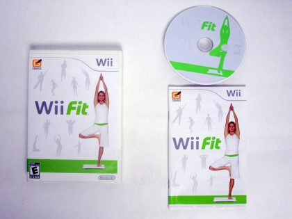 Wii Fit (Game Only) game for Nintendo Wii -Complete