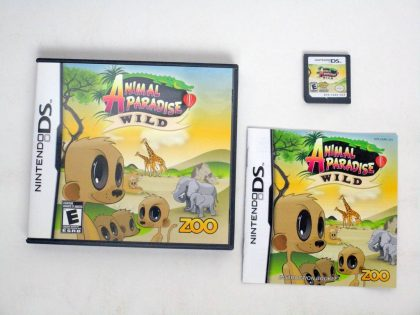Animal Paradise Wild game for Nintendo DS -Complete