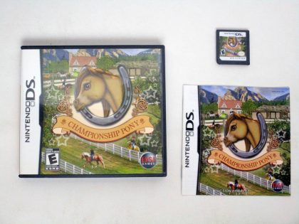 Championship Pony game for Nintendo DS -Complete